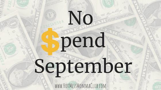 No Spend September
