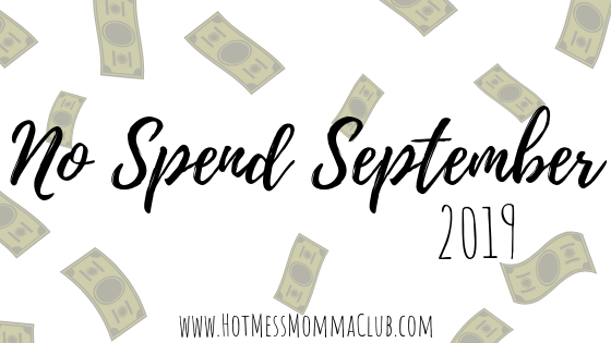 No Spend September 2019