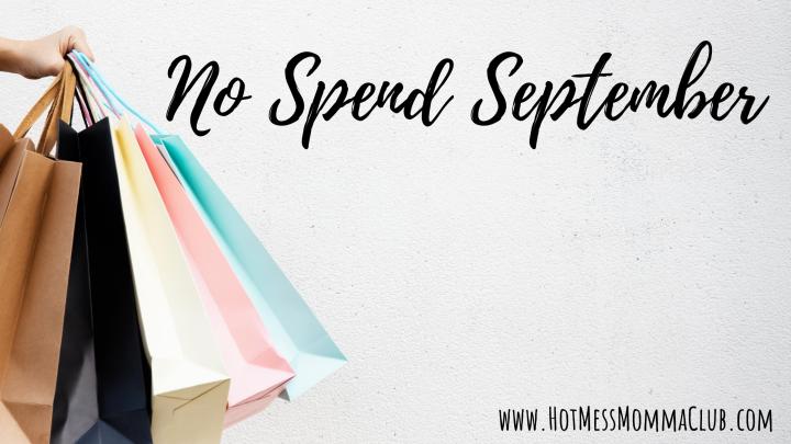 No Spend September2020